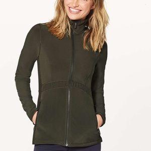 Lululemon Round Trip Jacket - Dark Olive